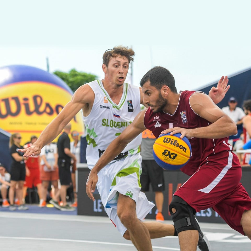 THE OFFICIAL BALL <br>OF FIBA 3X3