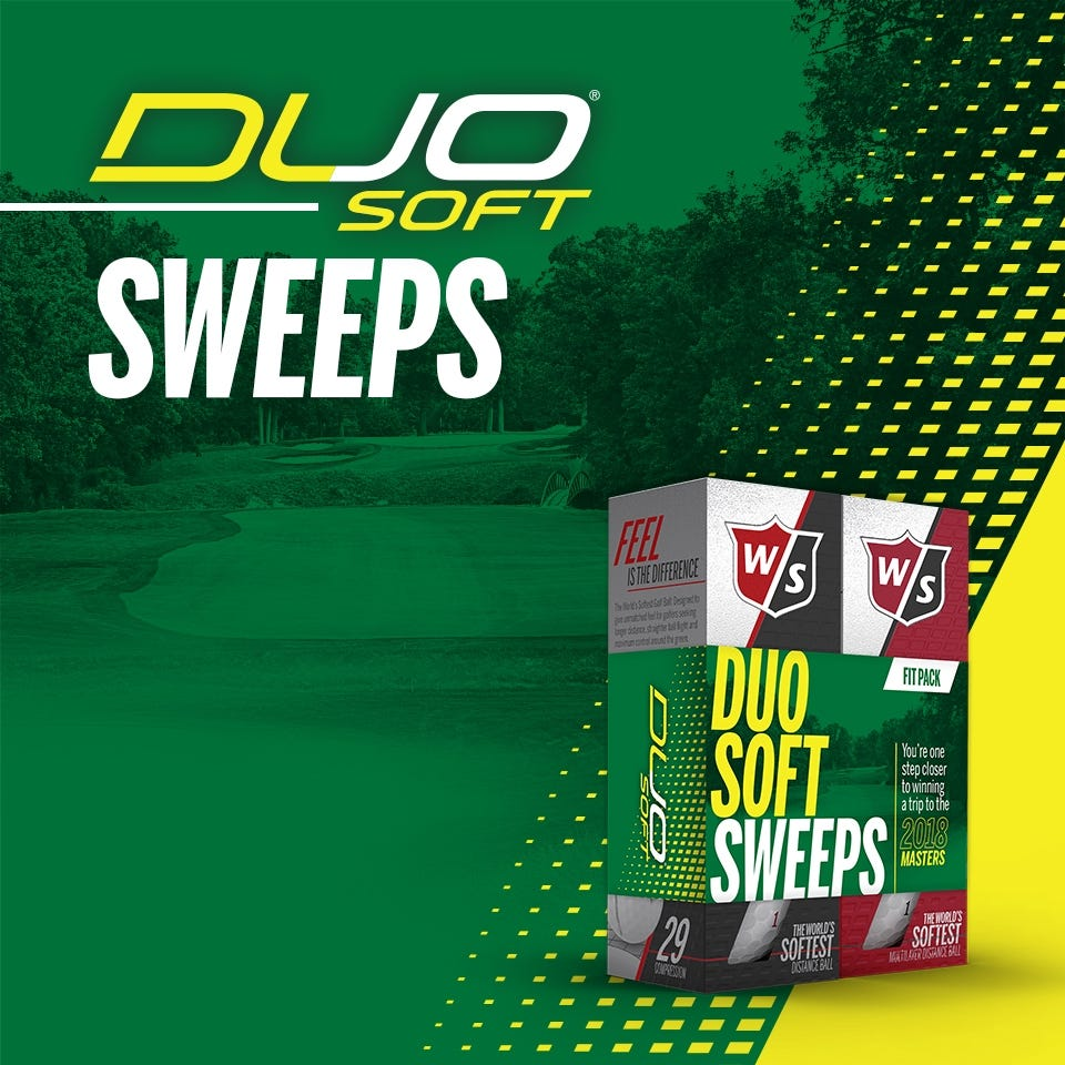 Win a trip for <br>two to The Masters