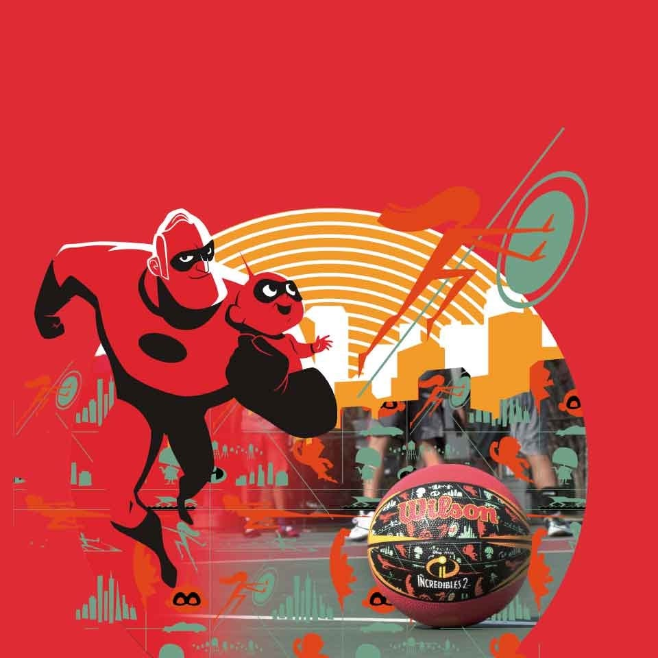 Incredibles 2 Solid Abstraction Collection