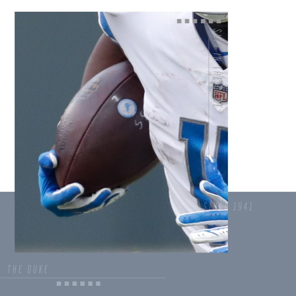best loved f9752 e42df Detroit Lions Footballs & Gear | Wilson Sporting Goods
