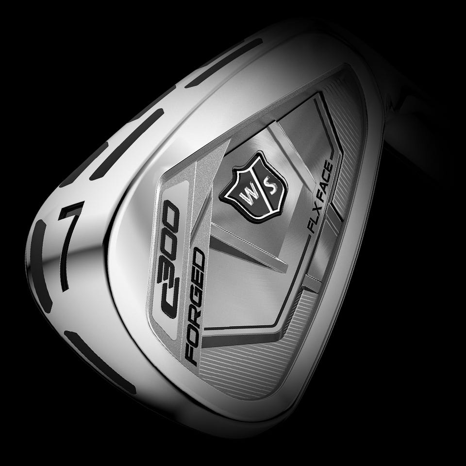 Wilson Staff C300 Forged Irons Steel Wilson Sporting Goods