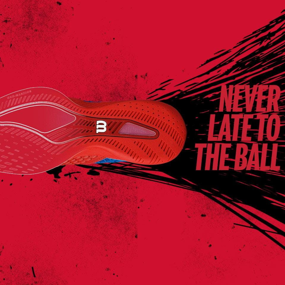 Never late to the ball