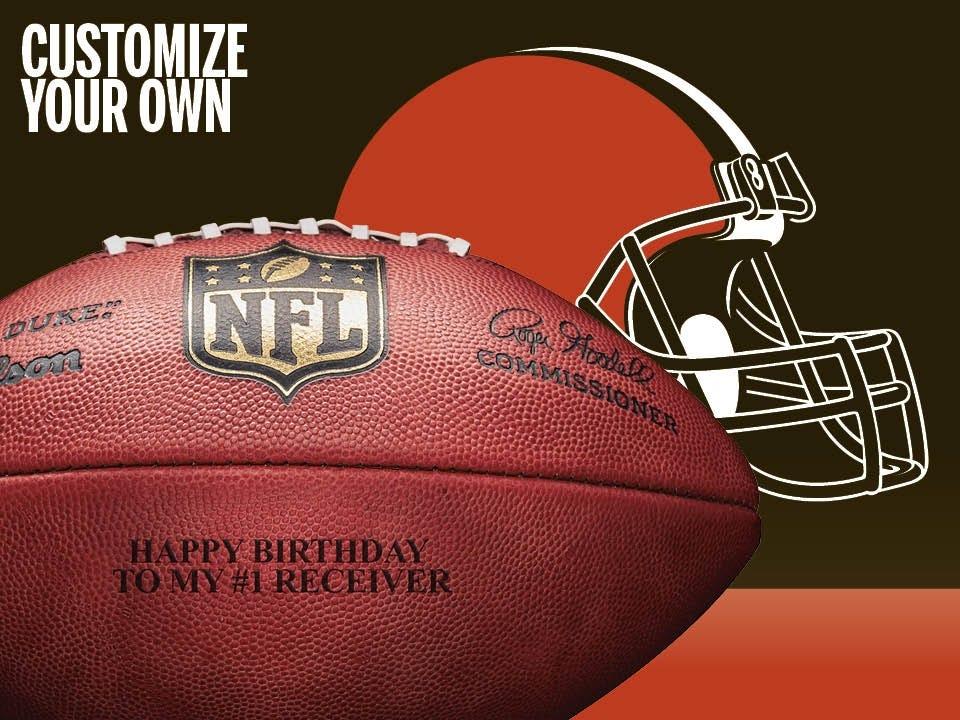 f228e3d9c Cleveland Browns Footballs & Gear | Wilson Sporting Goods