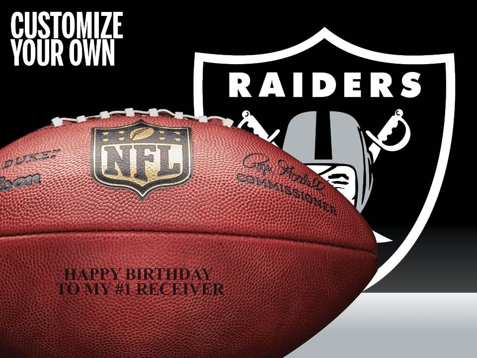 Quick View. No rating value  (0). Custom NFL Oakland Raiders Every Given  Sunday Football 26dcbd7b57f