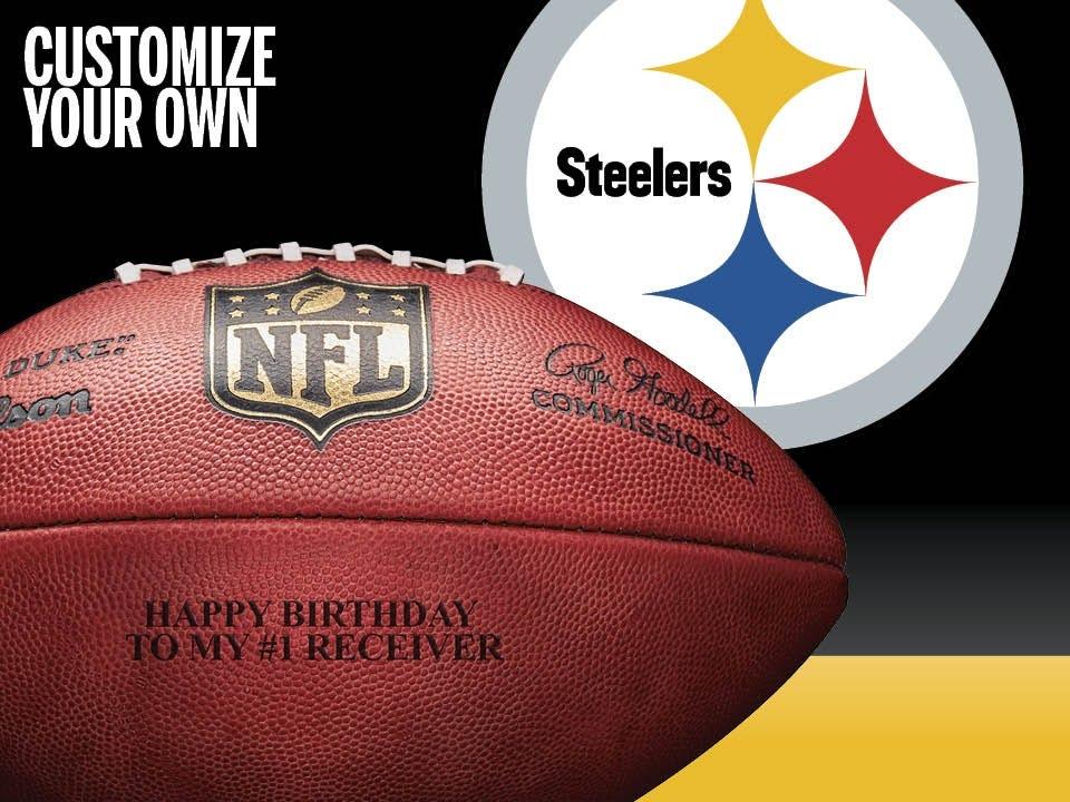 Pittsburgh Steelers Footballs & Gear | Wilson Sporting Goods