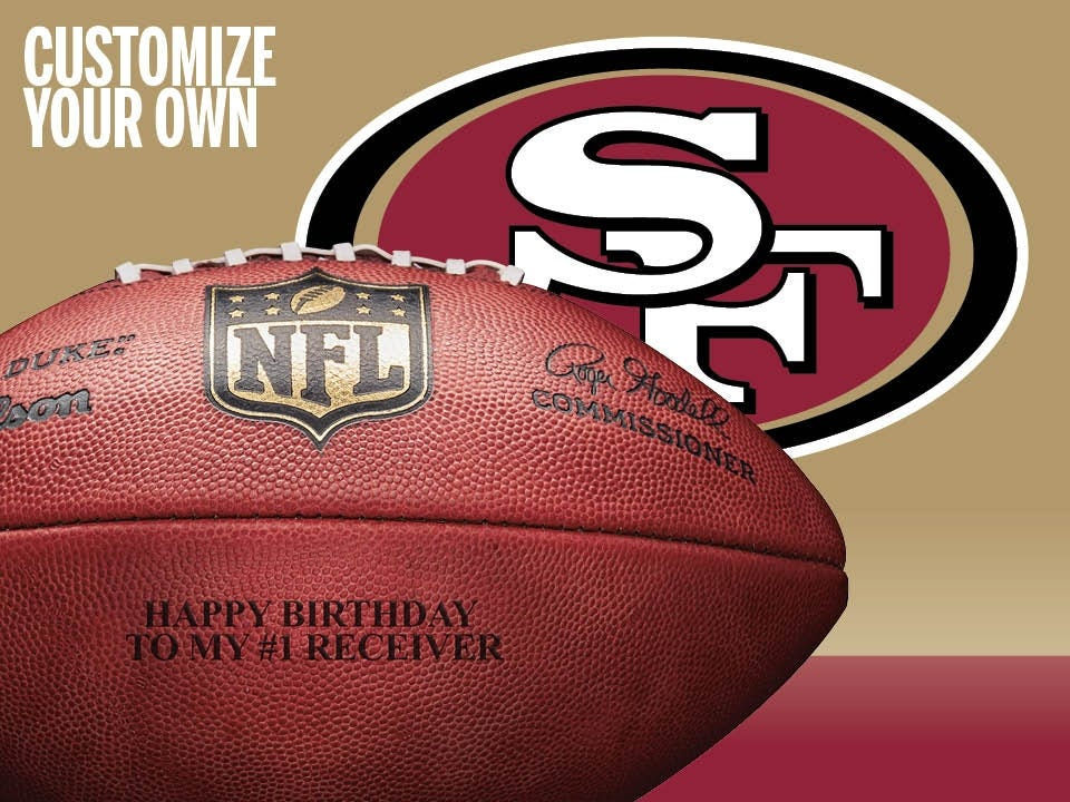 fc2ce7d5693 Custom NFL San Francisco 49ers Ultimate Fan Football.  79.99. Quick View.  No rating value  (0)