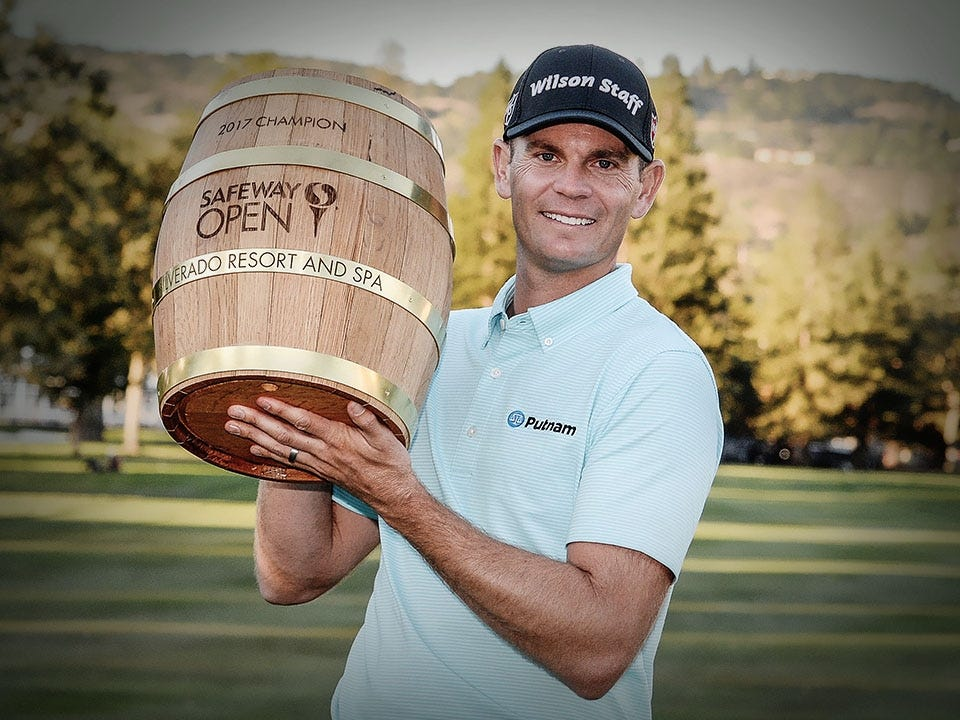 Steele's Second Safeway Open Victory