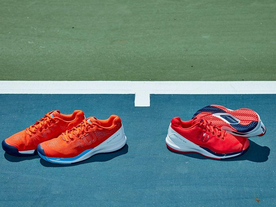 WILSON Rush Comp LTR Chaussures de Tennis Mixte