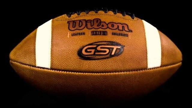 Tdy Gst Leather Football Youth Size Wilson Sporting Goods