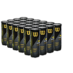 group of several packages of US open tennis balls