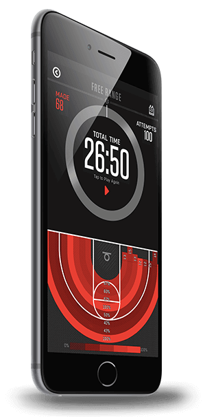 Wilson X Connected Basketball - Free Range App Screen